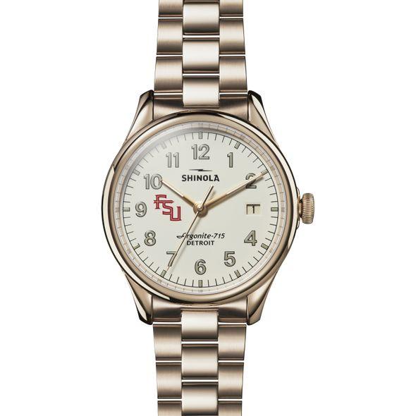 FSU Shinola Watch, The Vinton 38mm Ivory Dial - Image 2