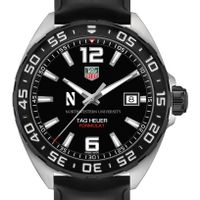 Northwestern Men's TAG Heuer Formula 1 with Black Dial