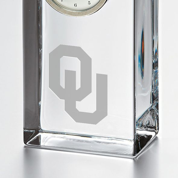 Oklahoma Tall Desk Clock by Simon Pearce - Image 2
