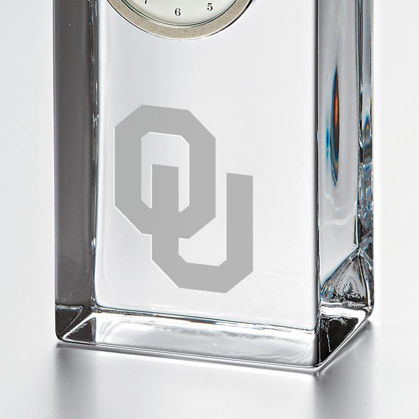 Oklahoma Tall Desk Clock by Simon Pearce - Image 2
