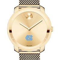 University of North Carolina Women's Movado Gold Bold 36