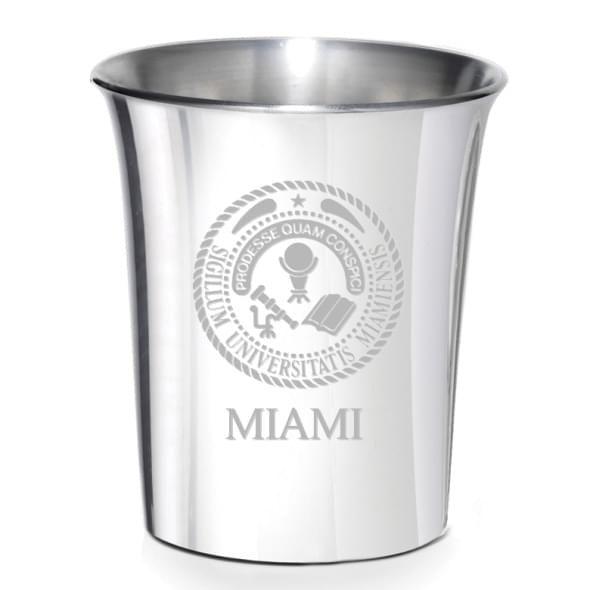 Miami University Pewter Jigger