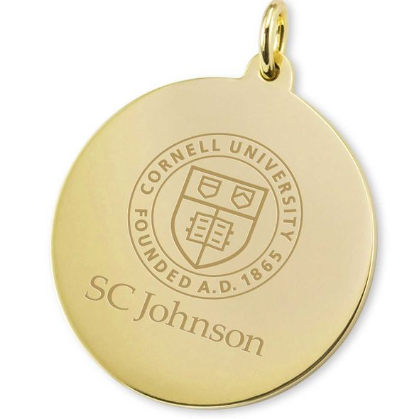 SC Johnson College 18K Gold Charm - Image 2