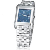 Men's Blue Quad Watch with Bracelet