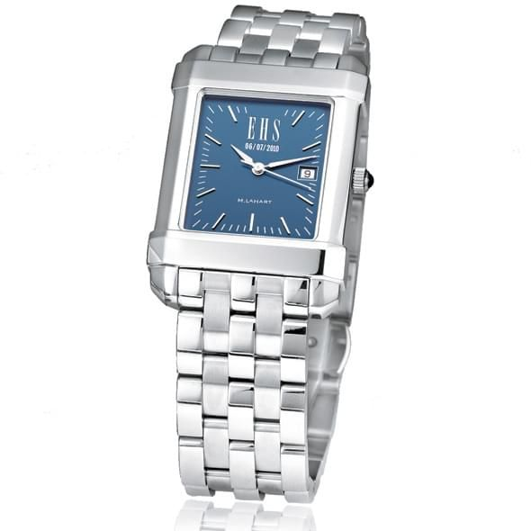 Men's Blue Quad Watch with Bracelet