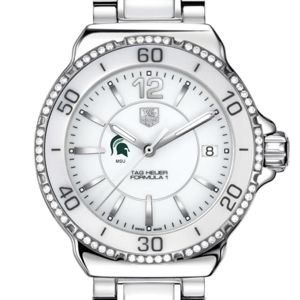Michigan State Women's TAG Heuer Formula 1 Ceramic Diamond Watch