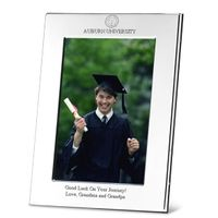 Auburn Polished Pewter 4x6 Picture Frame