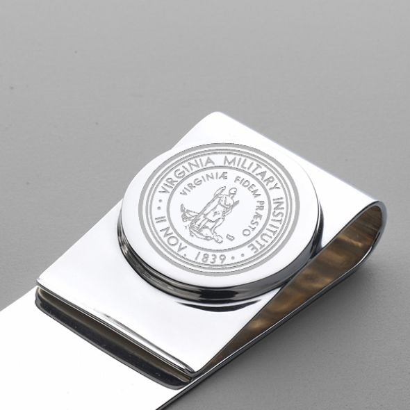 Virginia Military Institute Sterling Silver Money Clip - Image 2