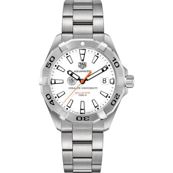 Colgate University Men's TAG Heuer Steel Aquaracer - Image 2