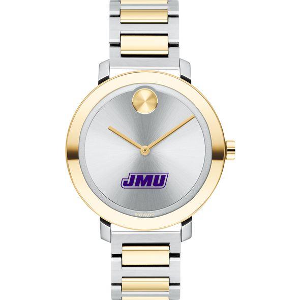 James Madison University Women's Movado Two-Tone Bold 34 - Image 2