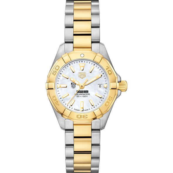 Chicago Booth TAG Heuer Two-Tone Aquaracer for Women - Image 2