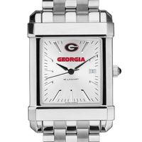 Georgia Men's Collegiate Watch w/ Bracelet
