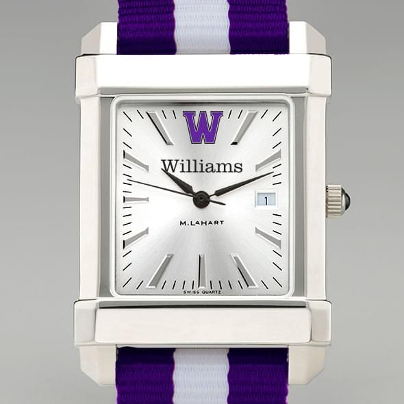 Williams College Collegiate Watch with NATO Strap for Men