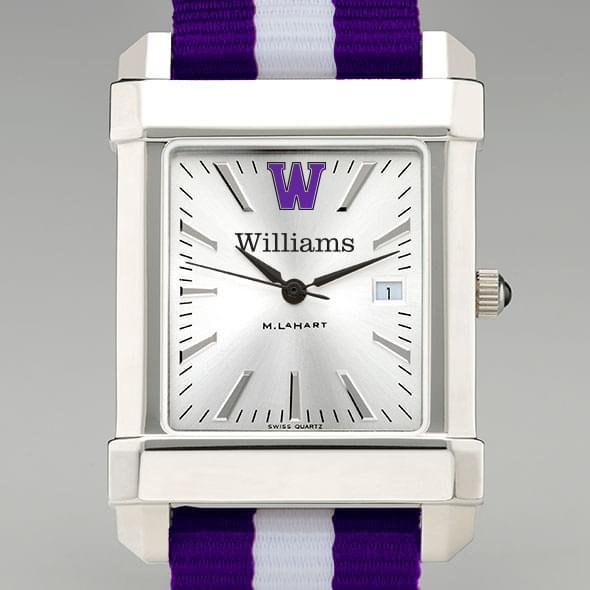 Williams College Collegiate Watch with NATO Strap for Men