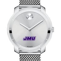 James Madison University Women's Movado Stainless Bold 36