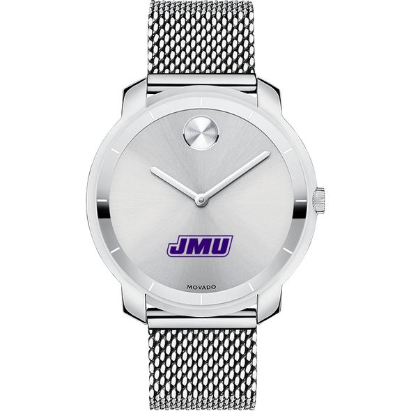 James Madison University Women's Movado Stainless Bold 36 - Image 2