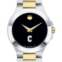 Charleston Women's Movado Collection Two-Tone Watch with Black Dial