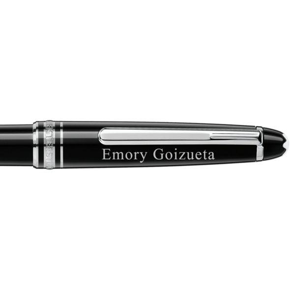 Emory Goizueta Montblanc Meisterstück Classique Ballpoint Pen in Platinum - Image 2