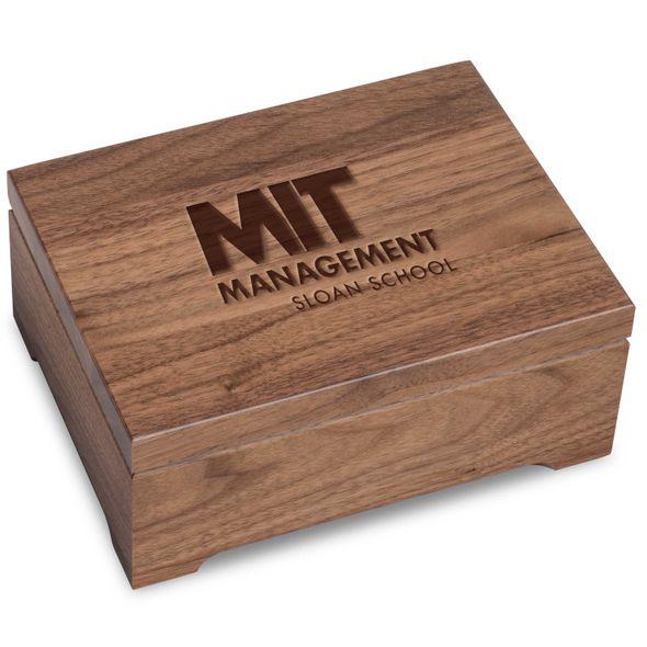 MIT Sloan Solid Walnut Desk Box - Image 1