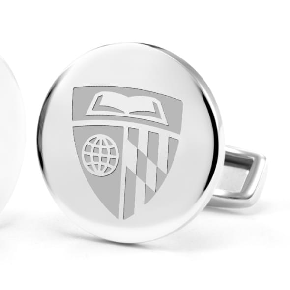 Johns Hopkins University Cufflinks in Sterling Silver - Image 2