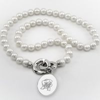 Maryland Pearl Necklace with Sterling Silver Charm