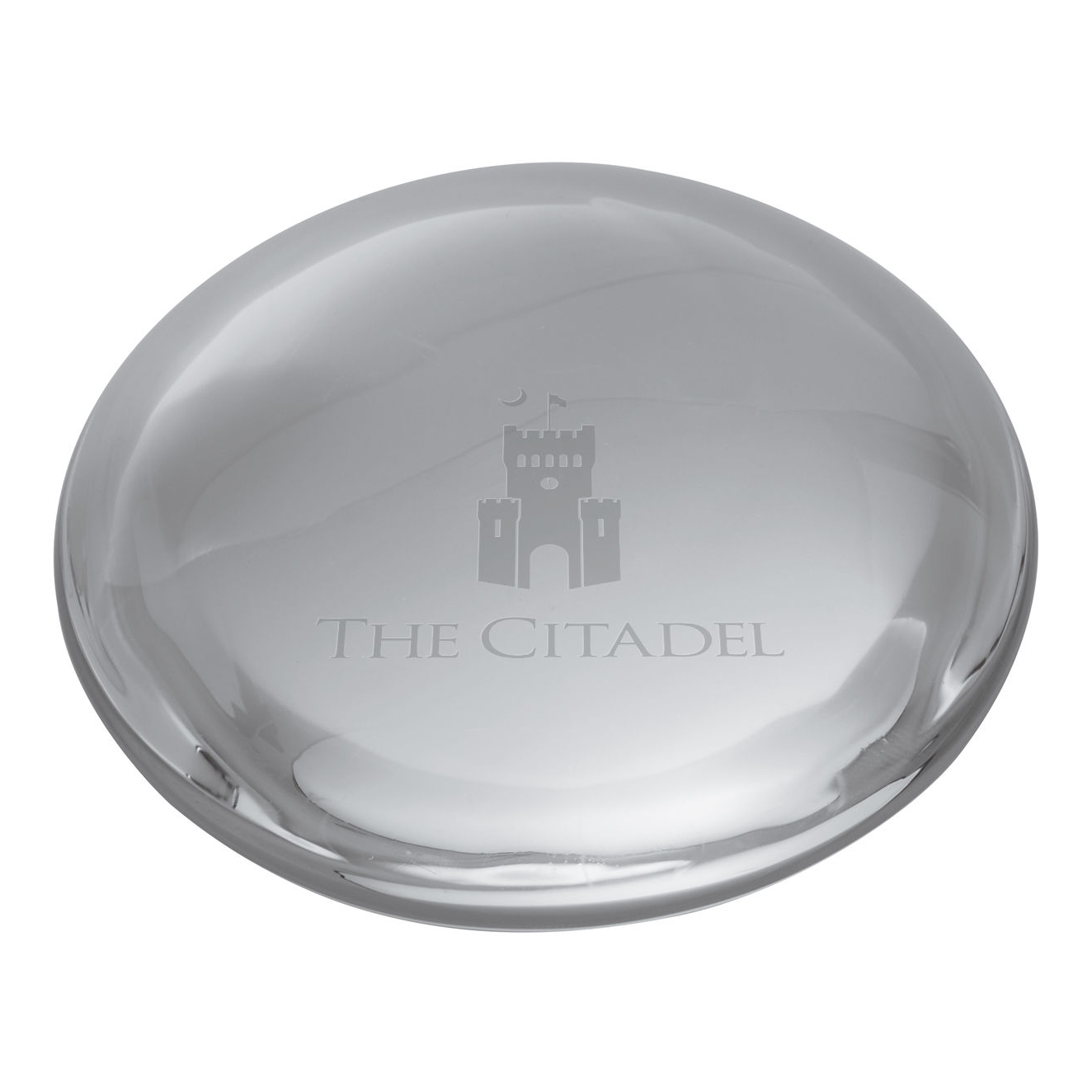 Citadel Glass Dome Paperweight by Simon Pearce - Image 2