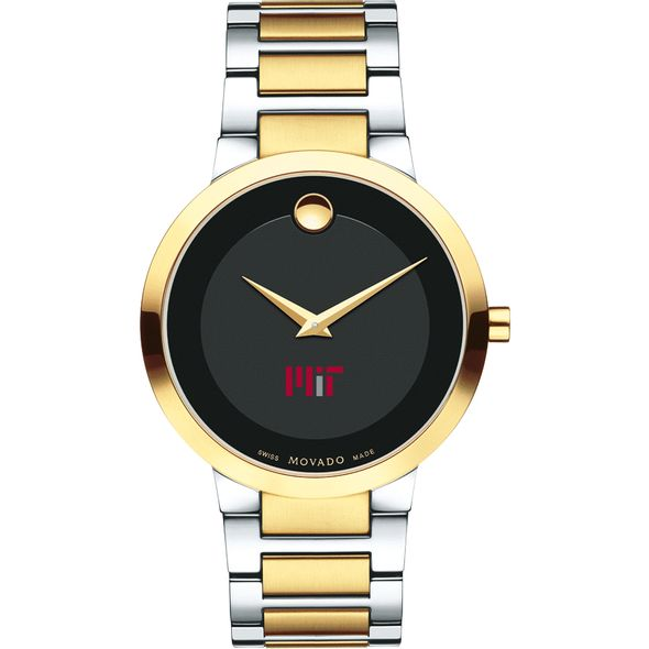 MIT Men's Movado Two-Tone Modern Classic Museum with Bracelet - Image 2