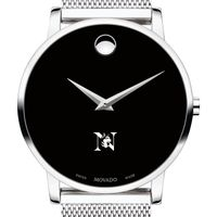Northeastern University Men's Movado Museum with Mesh Bracelet