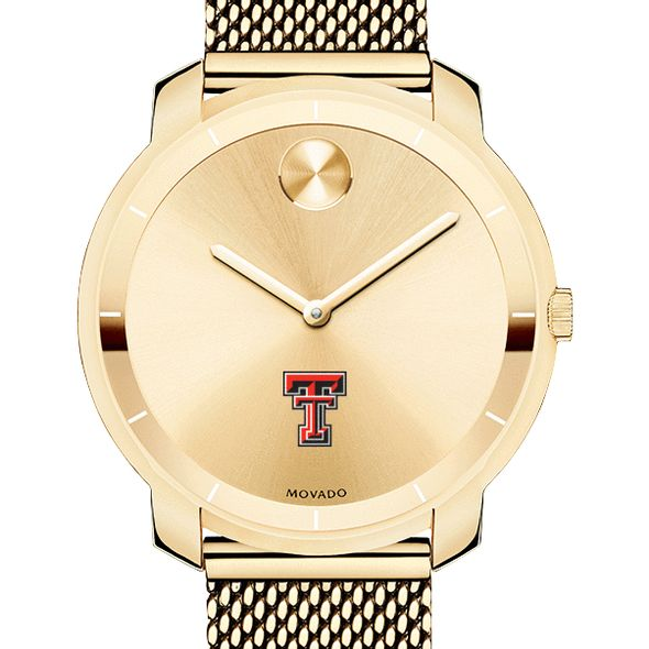 Texas Tech Women's Movado Gold Bold 36