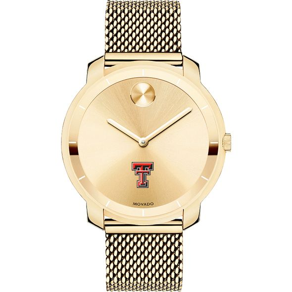 Texas Tech Women's Movado Gold Bold 36 - Image 2
