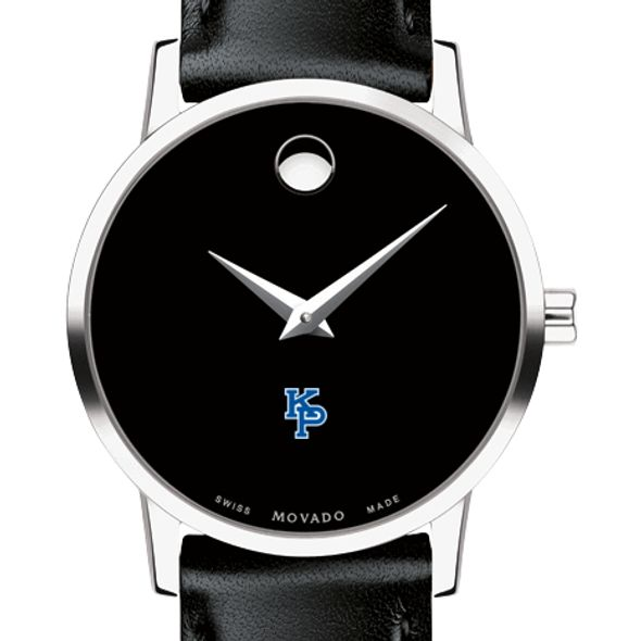 US Merchant Marine Academy Women's Movado Museum with Leather Strap - Image 1