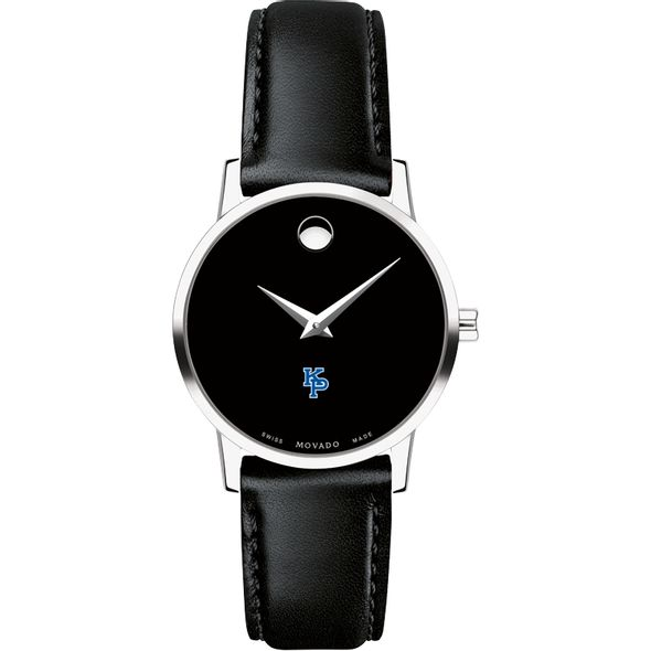 US Merchant Marine Academy Women's Movado Museum with Leather Strap - Image 2