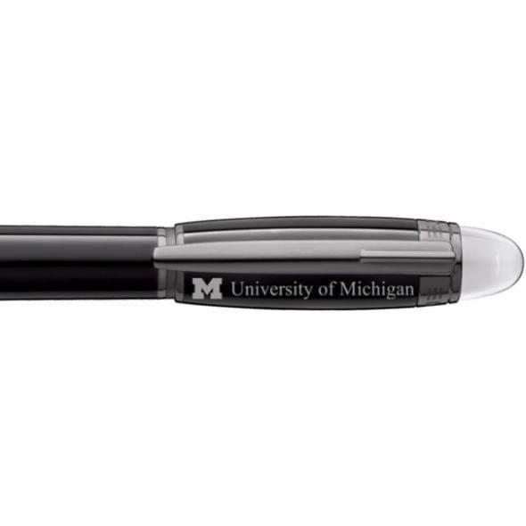 University of Michigan Montblanc StarWalker Fineliner Pen in Ruthenium - Image 2