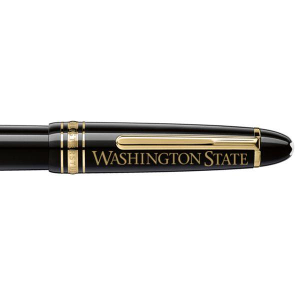 Washington State University Montblanc Meisterstück LeGrand Rollerball Pen in Gold - Image 2