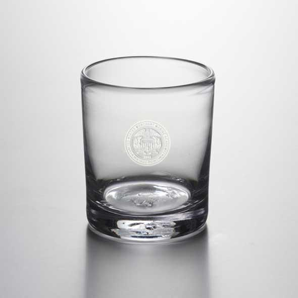 USMMA Double Old Fashioned Glass by Simon Pearce - Image 2