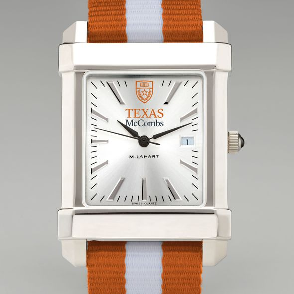 Texas McCombs Collegiate Watch with NATO Strap for Men - Image 1