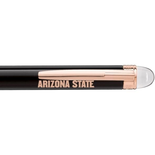 Arizona State Montblanc StarWalker Ballpoint Pen in Red Gold - Image 2