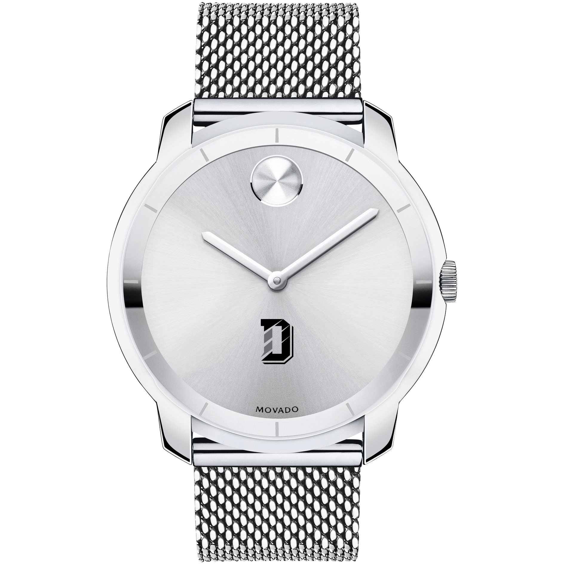 Davidson College Men's Movado Stainless Bold 44 - Image 2