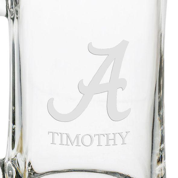 Alabama 25oz Glass Stein - Image 3