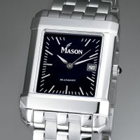George Mason University Men's Black Quad with Bracelet