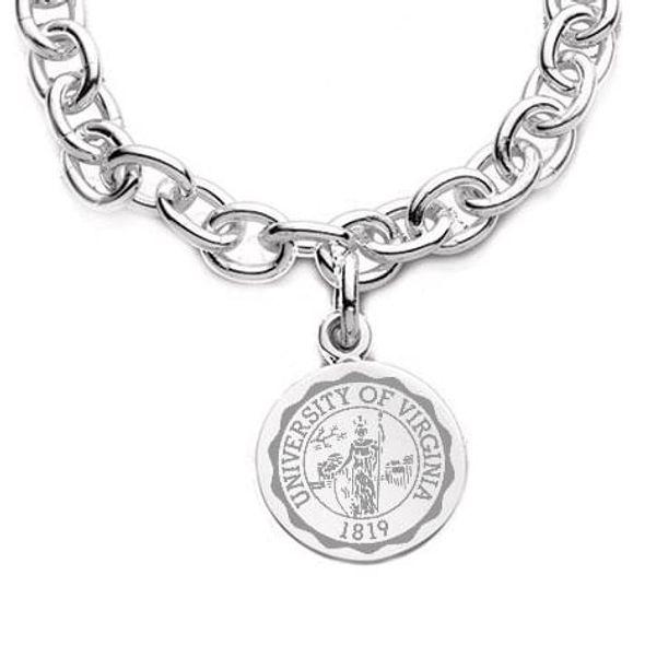 UVA Sterling Silver Charm Bracelet - Image 2