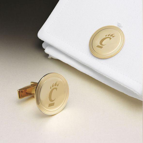 Cincinnati 18K Gold Cufflinks - Image 1