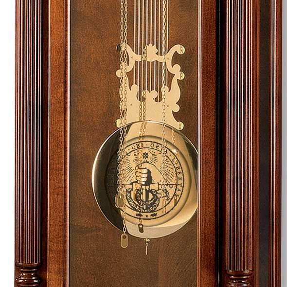 Davidson College Howard Miller Grandfather Clock - Image 2
