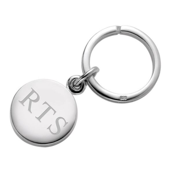 Sterling Silver Insignia Key Ring - Image 1