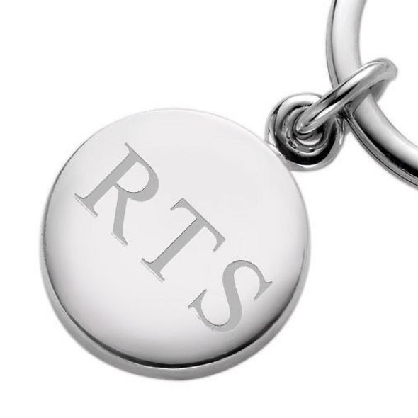 Sterling Silver Insignia Key Ring - Image 2