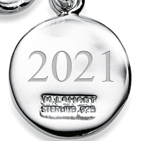 Sterling Silver Insignia Key Ring - Image 3