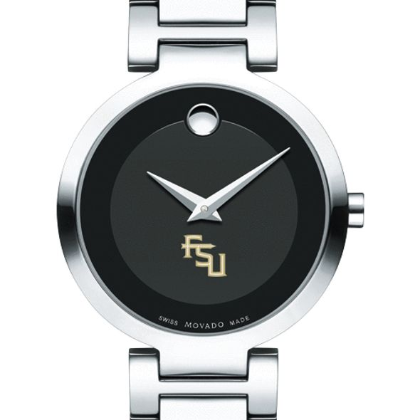 Florida State University Women's Movado Museum with Steel Bracelet