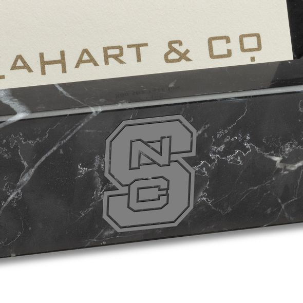 NC State Marble Business Card Holder - Image 2