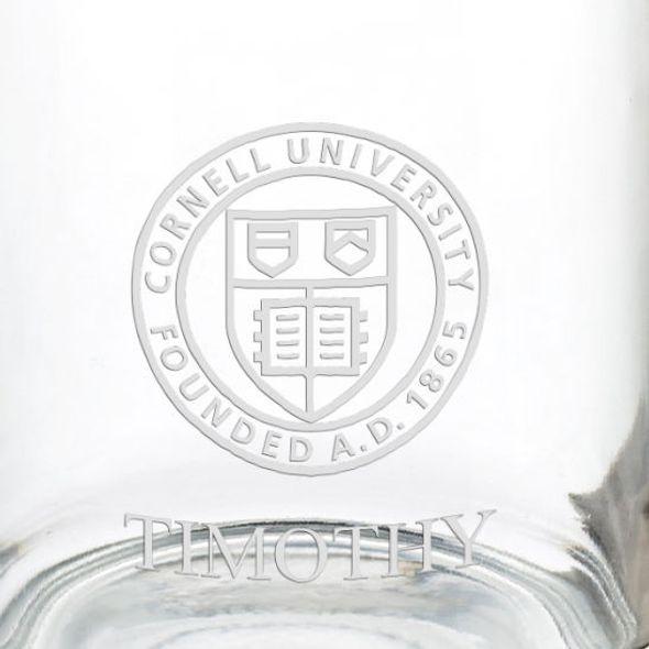 Cornell University 13 oz Glass Coffee Mug - Image 3