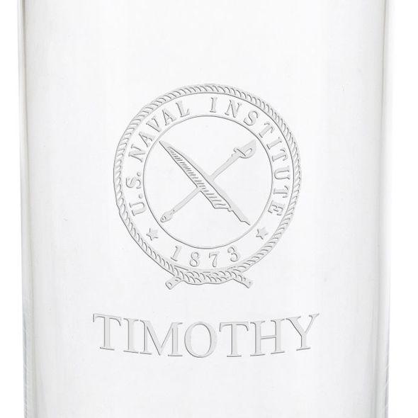 U.S. Naval Institute Iced Beverage Glasses - Set of 4 - Image 3